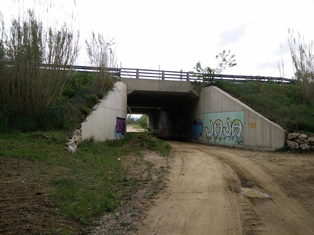 15. llegada a tunel carretera