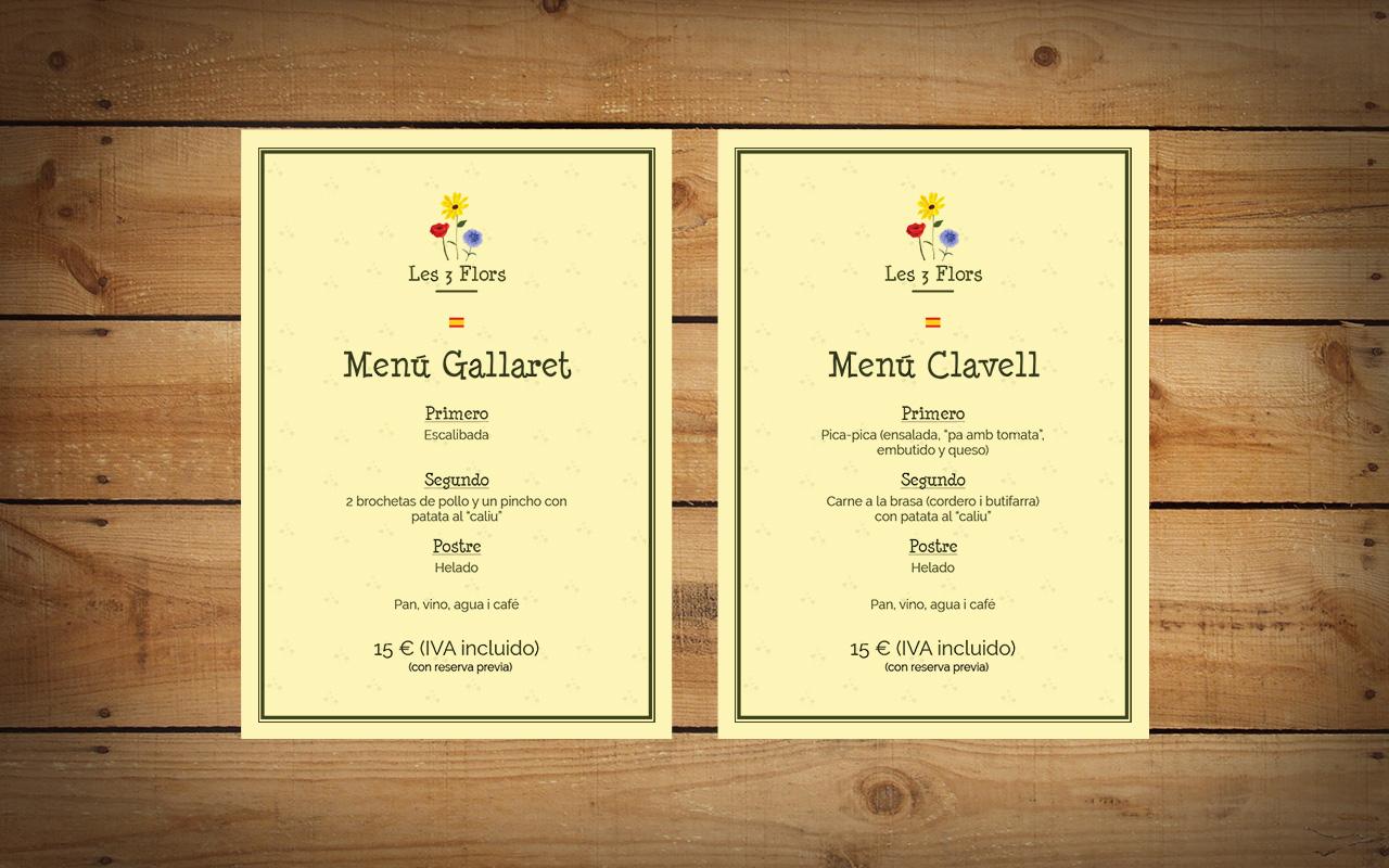 menus 2016 es picnic les 3 flors