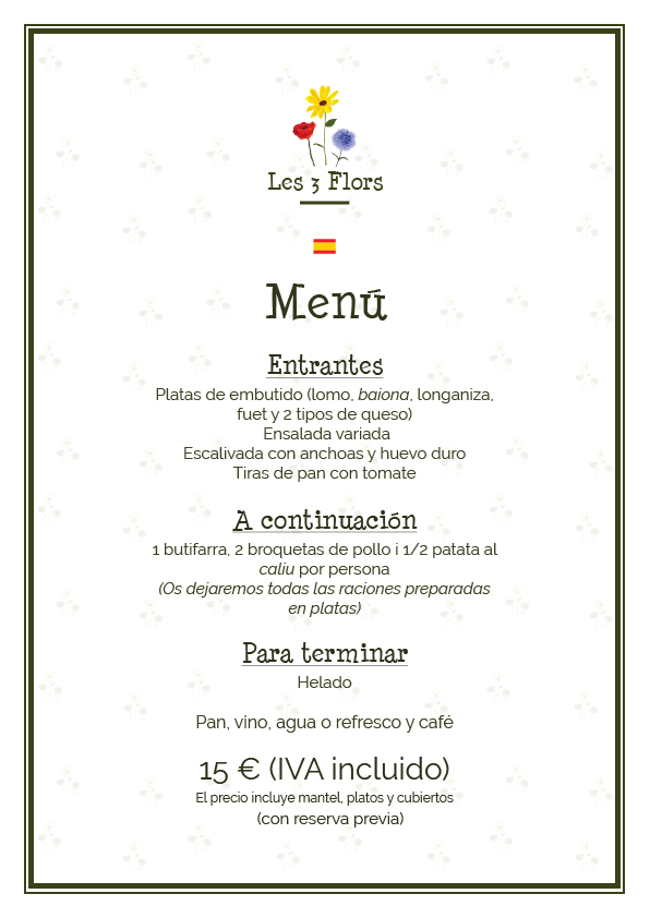 menu 2018 es