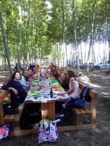 amics familia menu aniversari picnic les 3 flors