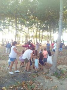 aniversari nens jugar animacio picnic les 3 flors