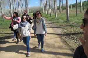 caminada voltants ruta amics picnic les 3 flors