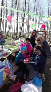 festa aniversari familia picnic les 3 flors
