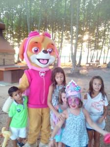 festa aniversari nens animacio picnic les 3 flors
