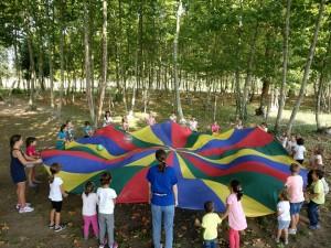 joc pilota nens grup festa anivesari picnic les 3 flors