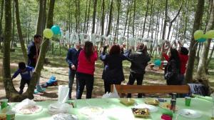 preparatius aniversari en marxa picnic les 3 flors