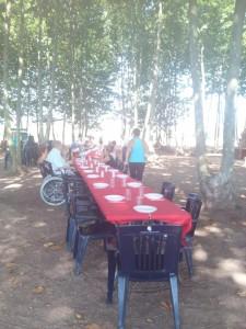 taula gent gran picnic les 3 flors